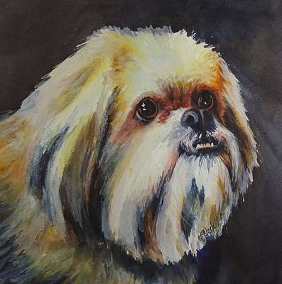 Painting - Beloved Pet by Donna Pierce-Clark