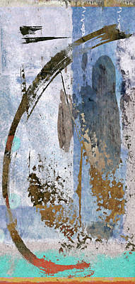 Abstract Collage Photograph - Below Sea Level by Carol Leigh