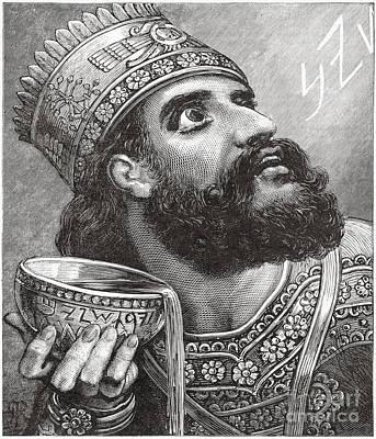 Belshazzar Print by Lionel F Stevenson