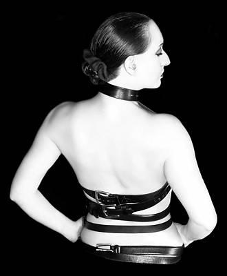 Self-portrait Photograph - Belted 2 - Self Portrait by Jaeda DeWalt