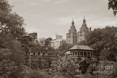 Photograph - Belvedere Castle San Remo Apts Twurl by Tom Wurl