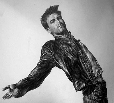 Ben Affleck Drawing - Ben Affleck by Jennifer Bryant
