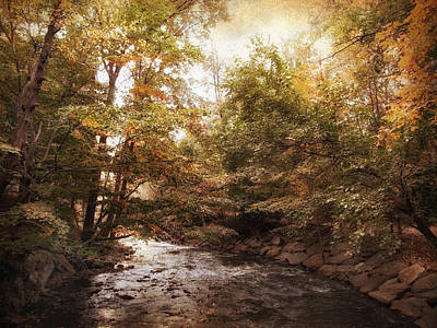 Bend In The River Print by Jessica Jenney