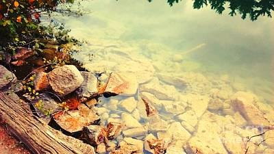 Beneath The Water Print by Nura Abuosba
