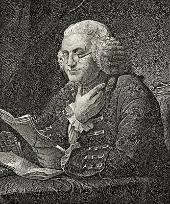 Franklin Drawing - Benjamin Franklin 1706 To 1790 American by Vintage Design Pics