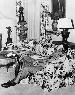 Photograph - Benny Bugsy Siegel 1906-1947, Shot Dead by Everett