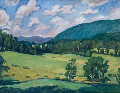 Berkshires Summer Original by Thor Wickstrom