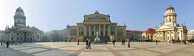 Berlin Photograph - Berlin - Gendarmenmarkt by Marc Huebner