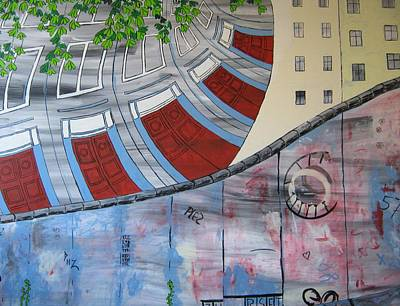 Berlin Germany Painting - Berlin by Connie Harkema