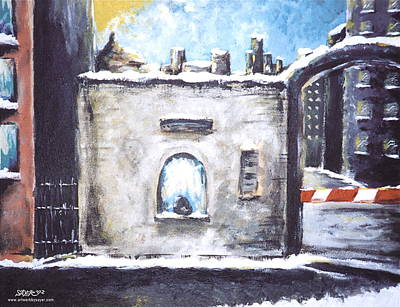 Berlin Germany Painting - Berlin Gate No.2 by James Sayer