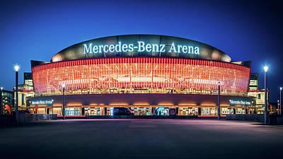 Mercedes Photograph - Berlin - Mercedes-benz Arena by Alexander Voss