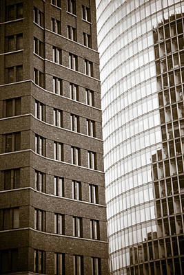 Berlin Potsdamer Platz Architecture Print by Frank Tschakert