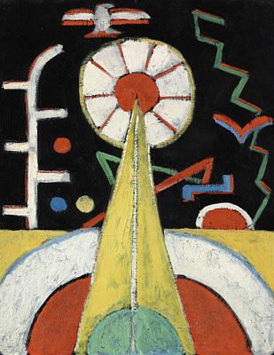 Marsden Hartley Painting - Berlin Series No 1 by Marsden Hartley