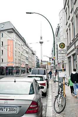 Berlin Photograph - Berlin Tv Tower by Tom Gowanlock