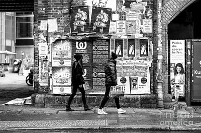 Photograph - Berliners by John Rizzuto