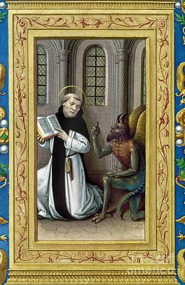Bernard De Clairvaux Print by Granger