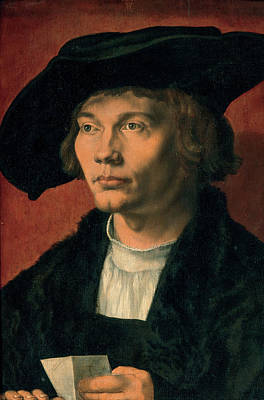 Durer Painting - Bernhard Von Reesen by Albrecht Durer