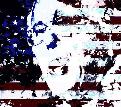 George Bush Mixed Media - Bernie 2016 by Brian Reaves
