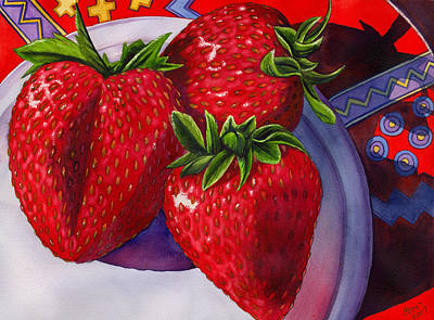 Berry Berry Berry Good Original by Catherine G McElroy