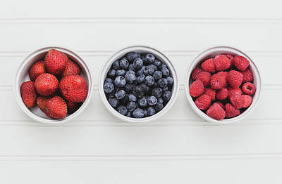 Fresh And Delicious Photograph - Berry Fresh by Kim Hojnacki
