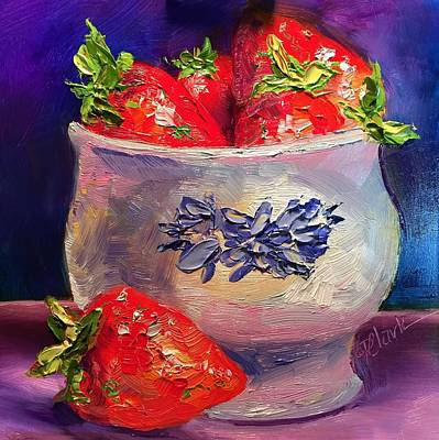 Painting - Berry Time by Donna Pierce-Clark
