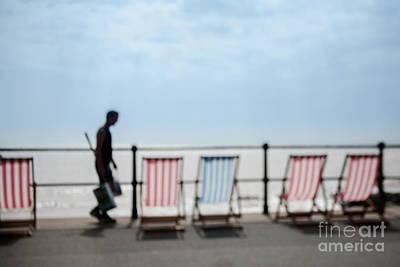 Beside The Seaside #4 Print by Jan Bickerton
