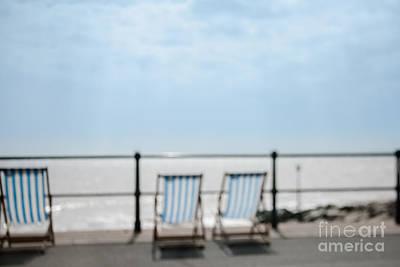 Beside The Seaside#5 Print by Jan Bickerton