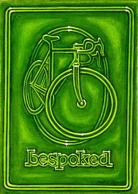 Painting - Bespoked In Lime  by Mark Howard Jones
