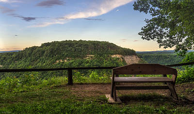 Grand View Of Nature Photograph - Best Seat In The House by Mark Papke