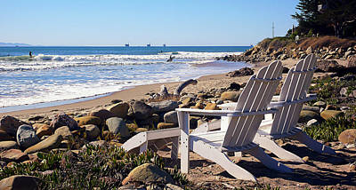 Wooden Platform Digital Art - Best View Of The Point by Ron Regalado