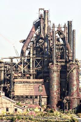 Photograph - Bethlehem Steel # 14 by Marcia Lee Jones