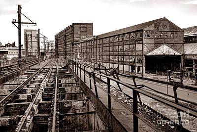 Bethlehem Steel Number Two Machine Shop Print by Olivier Le Queinec