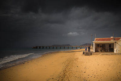 Porto Photograph - Between Storms by Chris Fletcher