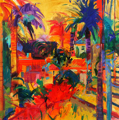 Beverly Hills Painting - Beverly Hills by Peter Graham