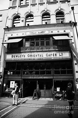 Bewleys Oriental Cafe In Grafton Street In Dublin Ireland Print by Joe Fox