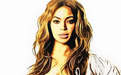 Beyonce  Original by Ez Art