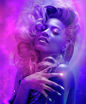 Beyonce Digital Art - Beyonce by Mal Bray