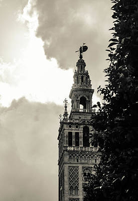 Architecture Photograph - Beyond The Clouds by Andrea Mazzocchetti