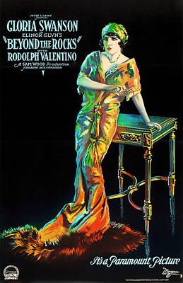 Gloria Mixed Media - Beyond The Rocks 1922 by Mountain Dreams