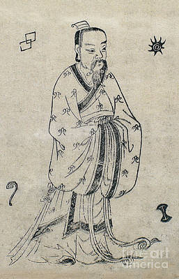 Que Photograph - Bian Que, Ancient Chinese Physician by Wellcome Images