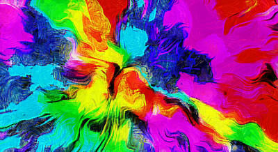 Woman Digital Art - Big Bang by Riccardo Zullian