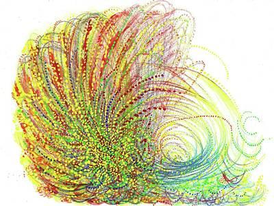Big Bang - The Birth Of My Art #106 Original by Rainbow Artist Orlando L aka Kevin Orlando Lau