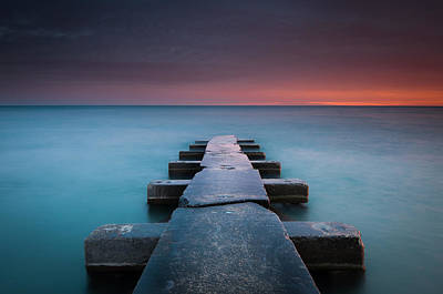 Bay Photograph - Big Bay by Josh Eral