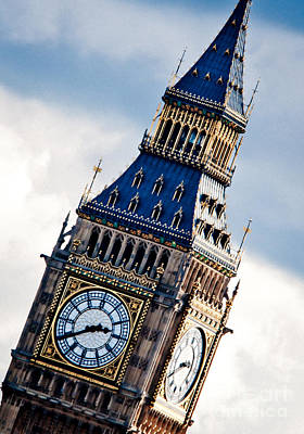 Big Ben Print by Andy Smy