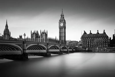 Big Ben Photograph - Big Ben by Ivo Kerssemakers