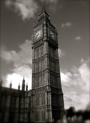 Big Ben Print by John Colley