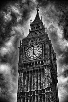 Big Ben London England Print by Jon Berghoff