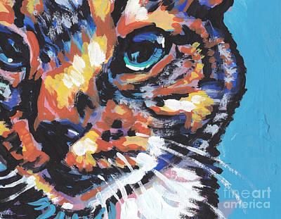 Big Blue Eyes Print by Lea S