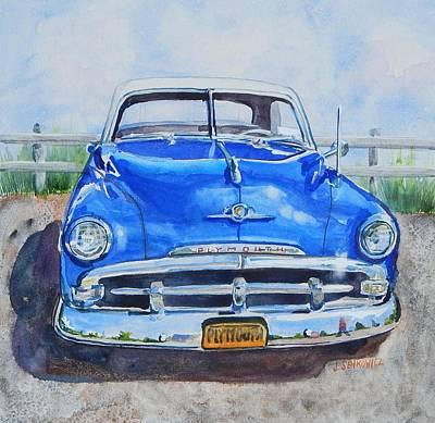 Big Blue Original by Joan Senkowicz