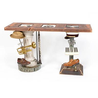 Art Sculpture - Big Easy Trio Console Table by Benjamin Bullins